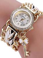 Наручные красивые часы с браслетом, фото 1