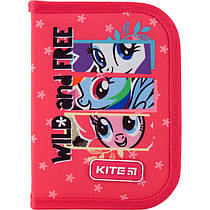 Пенал без наполнения Kite Education My Little Pony LP19-621, 1 отделение, 1 отворот
