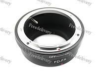 Адаптер переходник Canon FD - Fujifilm X (FX) Ulata