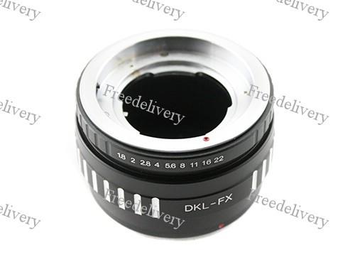 Адаптер переходник Deckel DKL - Fujifilm X FX Ulata