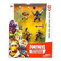 Набор игровых фигурок Fortnite Раптор, Ворон, Рекс, Повелитель Ржавчины 63519