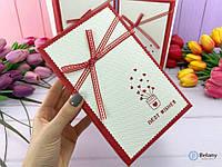 Коробка для подарков и декора дома магазина витрины подарочные упаковки красно-белая оригинальный подарок