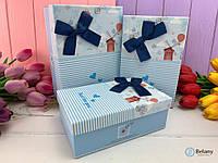 Коробка-подарок на крестины ребенка милый подарок упаковка для декора витрины магазина