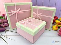 Коробка нежная для подарка оригинального для девушки на 8 марта коробка для декора витрины магазина
