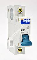 Автоматичний вимикач ВА-2001 1р 6А АСКО