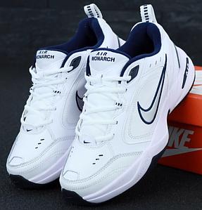 Мужские кроссовки Nike Air Monarch White, Найк Монарх