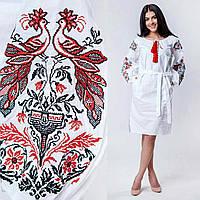 Нарядное платье с крутой вышивкой, фото 1