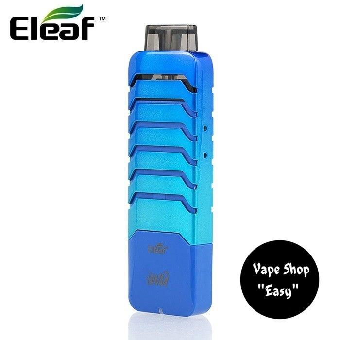 Pod система Eleaf iWu 15W Pod 700mAh Starter Kit Blue Оригинал. Электронная сигарета Вейп.