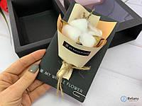 """Букет на подарок из сухих цветов """"ОТКРЫТКА #CF-02"""" букет с открыткой для любого торжества"""