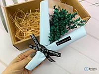"""Красивый букет из сухих цветов """"MY WHOLE #2"""" оригинальный подарок зеленые цветы"""