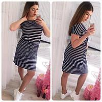 Платье женское лето большой размер 173 (52 54) СП
