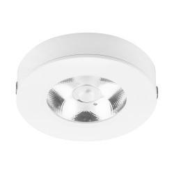 Светодиодный светильник downlight LED AL520 7W 4000K белый диаметр 85 мм высота 20 мм накладной