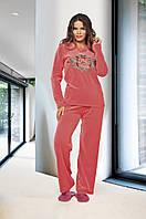 Велюровый костюм Lady Lingerie - 15220 L