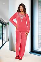 Домашняя одежда Lady Lingerie - Велюровый костюм 15230 XL