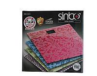 Весы напольные SINBO 4430 электронные бытовые до 150 кг платформенные весы, фото 1