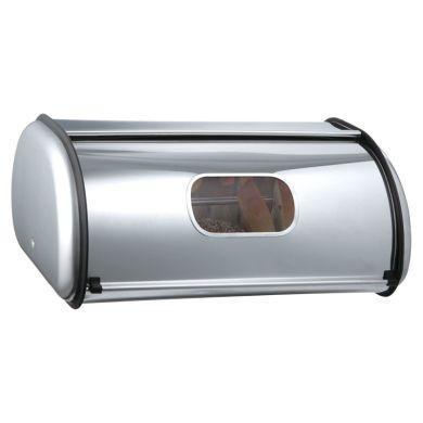 Хлебница LUXBERG LX 161502 с нержавеющей стали для хранения хлебобулочных изделий