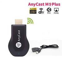 Медиаплеер HDMI адаптер Медиаплеер AnyCast M9 Plus (Google) Wi-Fi адаптер смарт ТВ беспроводной, фото 1