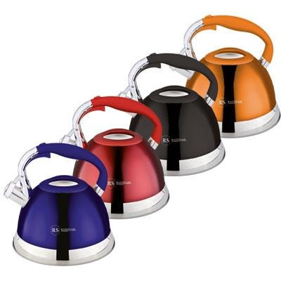 Чайник со свистком Rainstahl RS 7609 компактный и незаменимый на кухне