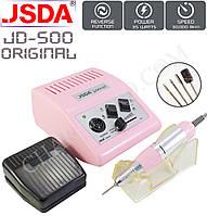 Фрезер для маникюра и педикюра JSDA JD-500 оригинал (35W/30000об.мин.)