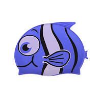 Детская силиконовая шапочка для плавания (z01975)