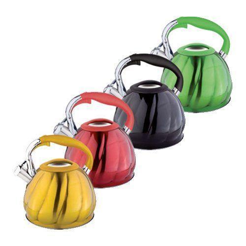Цветной чайник Rainstahl RS 7644 для всех видов плит с нержавеющей стали