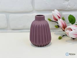 """Ваза керамическая """"PIN"""" слива матовая стильная ваза прекрасный подарок"""