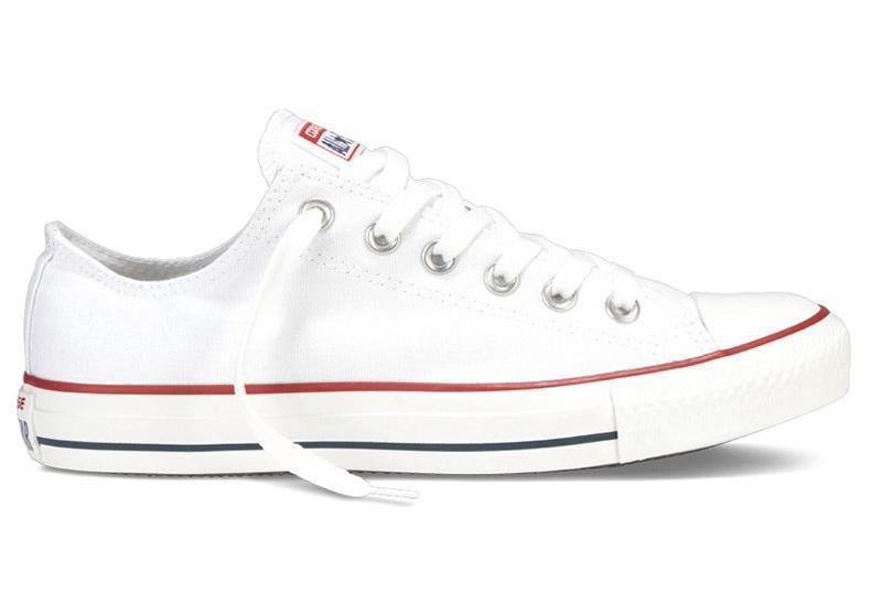 Кеды Converse All Star низкие Replica (реплика) белые New Styles