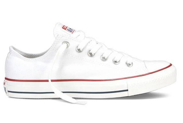 Кеды Converse All Star низкие Replica (реплика) белые New Styles, фото 2