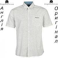 Размер XL (52) - Рубашка мужская Pierre Cardin из Англии - на короткий рукав - Распродажа