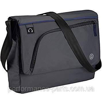 Сумка з наплечним ременем Volkswagen Logo Shoulder Bag, Anthracite 000087319f