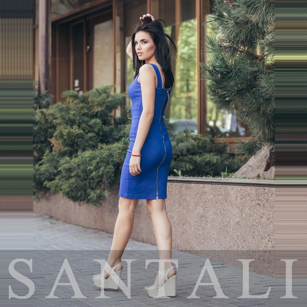 0c2448f079945a3 Джинсовое облегающее платье с молнией сзади по всей спине 45py2805 -  Интернет-магазин Tailor в
