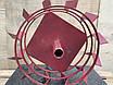 Колеса з грунт-ми 470/150(СМУГА 4*15мм)З ВІССЮ 32/170мм, фото 2
