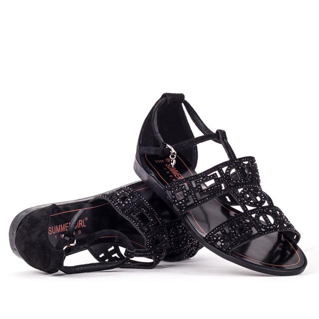 Босоножки на каблуке Summergirl D51Y BLACK 36