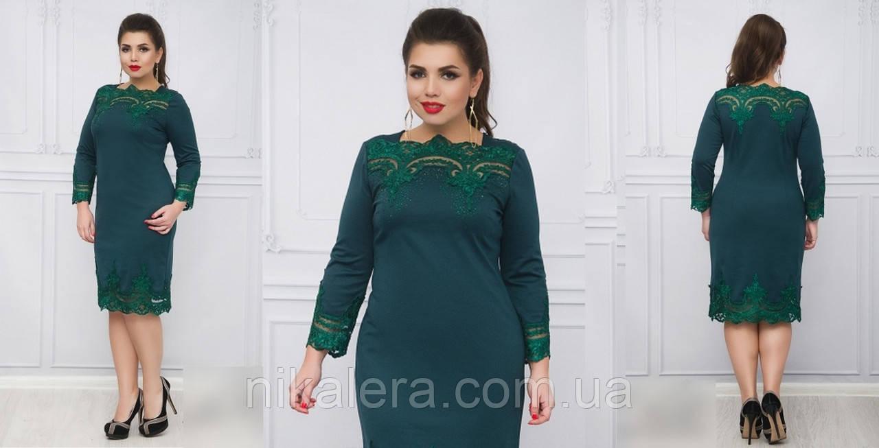 Женское платье из итальянского трикотажа, 50-60р