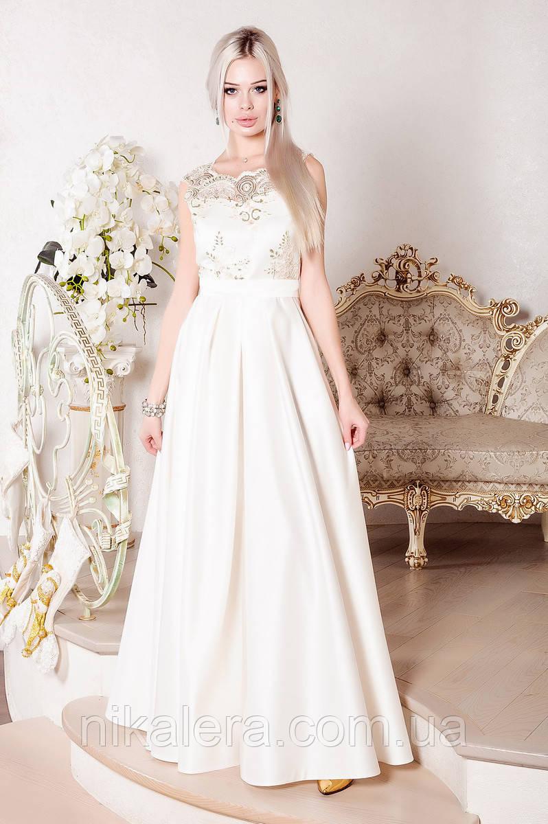 Роскошное нарядное платье
