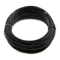 Филамент пластик 3D-принтера ABS 100г 1.75мм черный (z00102)