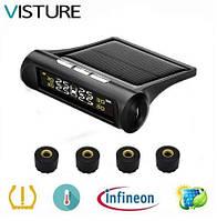 Система контроля давления и температуры в шинах VISTURE TPMS внешние датчики