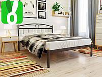 САМАЯ КРАСИВАЯ Металлическая кровать Инга (Inga) Метакам