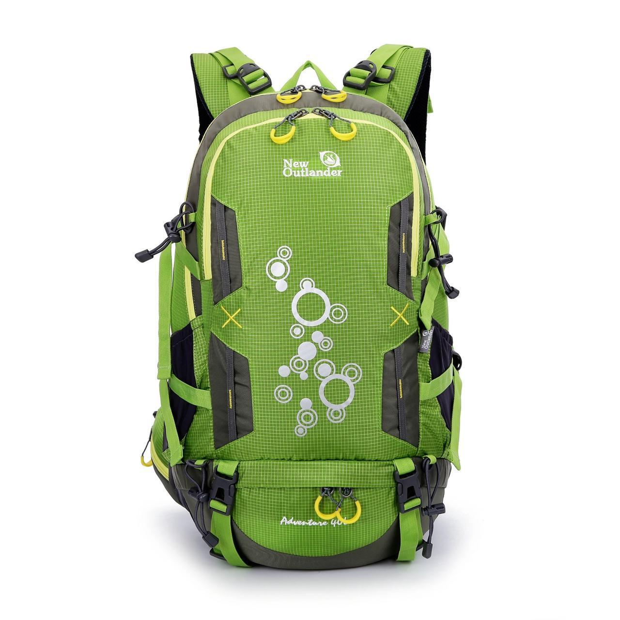 Рюкзак туристичний New Outlander 40 л - зеленый(AV 1217)