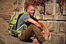 Рюкзак туристичний New Outlander 40 л - зеленый(AV 1217), фото 4