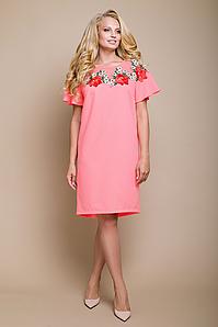 Платье и очень нежное  с вышивкой