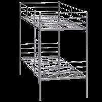Кровать металлическая двуярусная СИНД КР2Я.01.00.000 (ширина  830 мм)