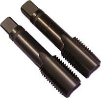 Метчик машинно-ручной М14х1.25 комплект из 2-х штук Р6М5 левый внутризавод