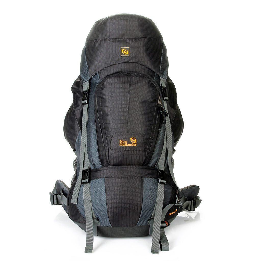Рюкзак для путешествий\экспедиций 90 литров New Outlander черный (AV 2016)