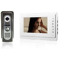 Видео домофон с 7'' цветным LCD камерой интерком (z01042)
