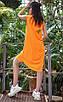 Летний яркий костюм с шортами и туникой , фото 5