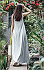 Женское летнее удлиненное платье из вискозы рр 42-50, фото 4