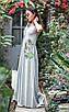 Женское летнее удлиненное платье из вискозы рр 42-50, фото 5