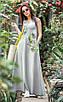 Женское летнее удлиненное платье из вискозы рр 42-50, фото 6