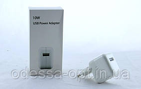 Адаптер ipad 1usb FOR IP CHARGER  (apple) (250) бев уп. 250шт.